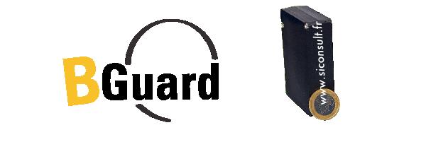 BGuard : tracker GPS, mouvement, température et hub de mesure.