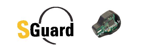 SGuard : Capteur de température, choc et vibration.